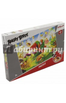Step Puzzle-560 Angry Birds (Rovio) (97043)Пазлы (400-600 элементов)<br>Пазл.<br>Количество деталей: 560.<br>Размер: 50х34,5 см.<br>Не рекомендовано детям младше 3-х лет. Содержит мелкие детали. <br>Сделано в России.<br>