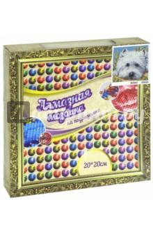 "Мозаика алмазная ""Собака"" (20х20 см) (13457) TUKZAR"