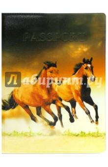 """Обложка для паспорта """"Твой стиль. Лошади"""" (2203.Т9) ДПС"""