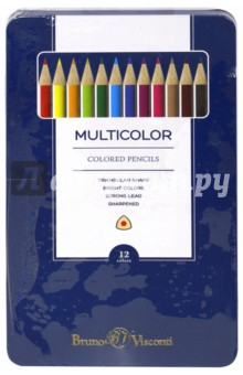 "��������� ������� ""Multicolor"" � ������������� ������� (12 ������) (30-0004) Bruno Visconti"