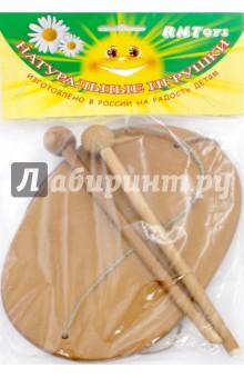 Пастуший барабан (Д-673)Музыкальные инструменты<br>Пастуший барабан.<br>Развивает координацию движений, с помощью него можно воспроизводить шумовые звуки.<br>Комплектность: 1 пастуший барабан, 2 колотушки.<br>Материал: дерево.<br>Упаковка: пакет с подвесом.<br>Для детей от 3 лет.<br>Сделано в России.<br>