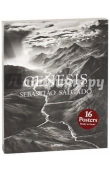 Genesis. Sebastiao Salgado: 16 PostersПостеры<br>Curate your home. Print Set Salgado. This inspiring print set offers sixteen designs to transform a blank wall into a personalized display. Each set of sixteen images has been specially selected from the TASCHEN collection as the most loved, and most interesting, examples of Sebastiao Salgado s work. The prints are packaged in a sturdy cardboard box and are suitable either for framing or as a poster.<br>