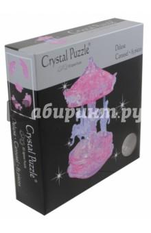 3D головоломка Карусель розовая (91209)Головоломки<br>3D пазл.<br>83 элемента.<br>Материал: пластмк.<br>Упаковка: картонная коробка.<br>Сделано в Китае.<br>