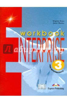 Enterprise 3. Workbook. Pre-Intermediate. Рабочая тетрадьИзучение иностранного языка<br>Enterprise series is designed for learners of English at secondary level.<br>Enterprise 3, Enterprise Plus Pre-Intermediate and Enterprise 4 each consist of four modules and are designed for learners of English at secondary level. The coursebooks are designed to provide systematic preparation in all the skills required for successful communication, both in written and spoken form. The material is clearly structured and easy to use. The Students Book and the Workbook for each level are designed to be covered in approximately 100 to 120 hours of classroom work.<br>Enterprise Plus Pre-Intermediate is an alternative version of Enterprise 3 and is intended for use at the same level. It has the same core syllabus as Enterprise 3, but offers additional supplementary material:<br>- Curricular Cuts - a variety of texts on cross-curricular topics<br>- Additional two-page Listening &amp;amp; Speaking sections<br>- Literature Corner - extracts from well-known works of literature, with related language activities.<br>The Workbooks contain a variety of vocabulary, grammar, communication, reading and writing exercises.<br>The Teachers Books provide step-by-step teaching notes, extra ideas for optional activities, a full key to the exercises in the Students Books and the Workbooks, photocopiable assessment tests and the tapescripts of the listening exercises in the Students Books.<br>