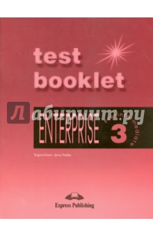 Enterprise 3. Test Booklet. Pre-Intermediate. Сборник тестовых заданийИзучение иностранного языка<br>Enterprise 3: Pre-lntermediate: Test Booklet contains nine write-in tests which aim to assess students progress throughout the course.<br>Key features:<br>A Mid-term Test covering language and grammar structures taught in Units 1-11 is included.<br>An Exit Test examining all material covered in the Enterprise 3 Pre-lntermediate course book is also provided. This can be used both as a placement test for students moving on to the next level of English Language learning and to evaluate overall achievement at the end of the course.<br>Each test contains separate sections which focus on Vocabulary, Grammar, Reading and Writing. Listening tests are also included.<br>A clear marking system has Peen included to enable both teachers and students to monitor progress every step of the way.<br>An answer key is also provided for teachers.<br>
