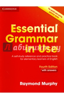 Essential Grammar in Use. A Self-Study Reference and Practice Book for Elementary LearnersАнглийский язык<br>The world s best-selling grammar series for learners of English. Essential Grammar in Use is a self-study reference and practice book for elementary-level learners (A1-B1), used by millions of people around the world. With clear examples, easy-to-follow exercises and answer key, the Fourth edition is perfect for independent study, covering all the areas of grammar that you will need at this level. The book has an easy-to-use format of two-page units with clear explanations of grammar points on the left-hand page, and practice exercises on the right. It also includes plenty of additional exercises and a Study Guide to help you find the grammar units you need to study.<br>Fourth edition.<br>