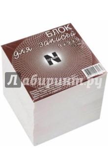 Блок для записей (9х9х9 см) (БЛ109)Бумага для записей<br>Блок для записей.<br>Размер: 9х9х9 см (+/-5 мм)<br>Бумага: офсет.<br>Произведено в России.<br>