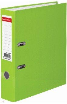 Папка-регистратор (80 мм, светло-зеленая) (222070)Папки-регистраторы<br>Папка с арочным механизмом.<br>Формат: А4.<br>Механизм на 2  арках <br>Цвет: зеленый. <br>Материал: картон, металл.<br>Сделано в России.<br>
