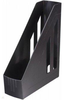 Лоток вертикальный для бумаг (черный) (230886) Brauberg