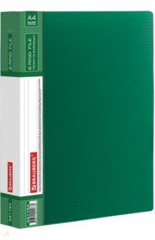 Папка 2 кольца (зеленая, 180 листов) (221794) Brauberg