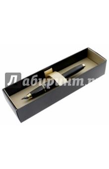 Ручка перьевая Urban Muted Black (S0850640)Ручки перьевые.<br>Ручка перьевая.<br>С колпачком.<br>Материал корпуса: матовый пластик.<br>Элегантная гравировка.<br>Упакована в подарочную коробку.<br>Сделано в Китае.<br>