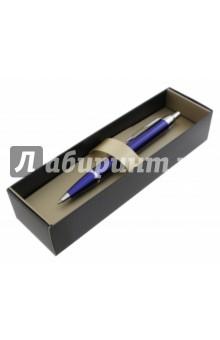 Ручка шариковая M BLUE CT, синяя (S0856460)Ручки шариковые автоматические синие<br>Характеристики:<br>Корпус из нержавеющей стали. <br>Элегантная гравировка.<br>Цвет чернил: синий.<br>Упакована в подарочную коробку.<br>Сделано во Франции.<br>
