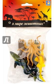 Набор игрушечных морских животных (6 штук х 10 см) (Т50514) 1TOY