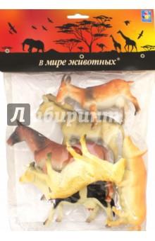 Набор игрушечных животных с фермы (6 штук х 15 см) (Т50554) 1TOY