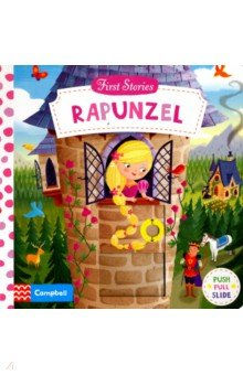 Rapunzel (board book)Литература на иностранном языке для детей<br>Rapunzel, Rapunzel, let down your golden hair! First Stories: Rapunzel is the perfect introduction for young children to this classic fairy tale. Push, pull and turn mechanisms bring the story to life and introduce all the main characters: Rapunzel, the handsome prince and of course the wicked witch. This well-loved fairy tale is beautifully imagined for a new generation by children s illustrator Dan Taylor. Also available: Snow White, Alice in Wonderland, Cinderella, The Jungle Book<br>