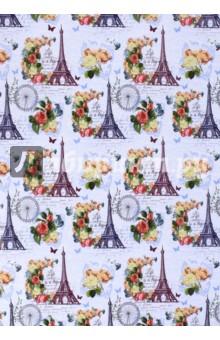 """Бумага упаковочная """"Апрельский Париж"""" (41883) Феникс-Презент"""