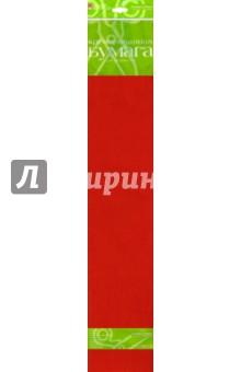 Бумага цветная креповая, красная (2-060/02) Альт