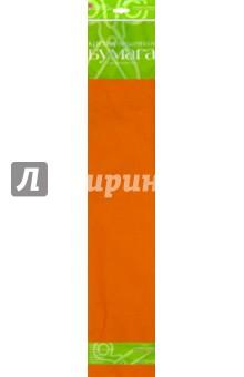 Бумага цветная креповая, оранжевая (2-060/08) Альт