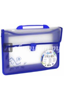 Портфель-папка (A4, прозрачный) (BS-20L-04)