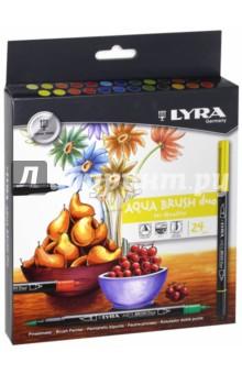 Фломастеры для художников (24 цвета, двойные) (L6521240) LYRA
