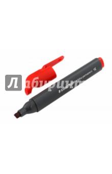 Перманентный маркер Triplus. В трехгранном корпусе. Красный. 3-5 мм. (3550-2) STAEDTLER