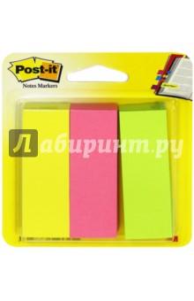 Закладки самоклеящиеся (22, 2 мм, 3 цвета, 100 шт) (671-3)