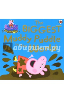 Peppa Pig. The Biggest Muddy Puddle in the WorldЛитература на иностранном языке для детей<br>Based on the number one pre-school and BAFTA winning TV animation, Peppa Pig, this wonderful story picture book is perfect for reading at bedtime, playtime and over and over again!<br>Once upon a time, there was a loveable, slightly bossy little piggy, named Peppa. She loved jumping up and down in muddy puddles. Peppa Pig and her little brother George don t mind rain, because rain means muddy puddles to jump in! But what happens when the rain is so heavy, torrential and even biblical? The result is a flood, and Granny and Grandpa Pig come to the rescue with their boat. And when the water disappears, it creates Peppa s dream come true - the world s biggest, muddiest puddle ever!<br>This beautiful picture book is full of Peppa Pig humour and charm and will no doubt become a classic.<br>