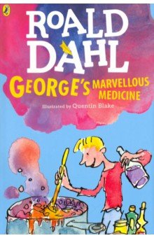 Georges Marvellous MedicineЛитература на иностранном языке для детей<br>Phizz-whizzing new branding for the worlds No.1 storyteller, Roald Dahl! Exciting, bold and instantly recognisable with Quentin Blakes inimitable artwork. George Krankys Grandma is a miserable grouch. George really hates that horrid old witchy woman. One Saturday morning, George is in charge of giving Grandma her medicine. So-ho! Ah-ha! Ho-hum! George knows exactly what to do. A magic medicine, it will be. One that will either cure her completely...or blow off the top of her head. Warning: Do not try to make Georges Marvellous Medicine yourselves at home. It could be dangerous.<br>