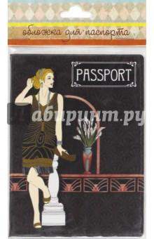 "Обложка для паспорта ""Ар-Деко"" (41574) Феникс-Презент"