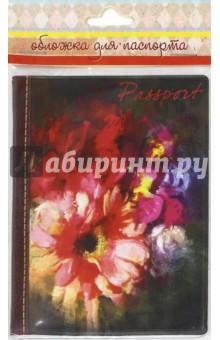 """Обложка для паспорта """"Гербера"""" (41584) Феникс-Презент"""