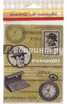 """Обложка для паспорта """"Джентльмен"""" (41571) Феникс-Презент"""