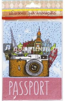 """Обложка для паспорта """"Фототур"""" (41581) Феникс-Презент"""