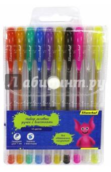 Набор гелевых ручек Джинсовая коллекция (10 цветов, с блестками) (016092-10)Наборы гелевых ручек<br>Набор гелевых ручек.<br>Предназначены для письма. <br>В наборе 10 цветов с блестками.<br>Пишущий узел: 1 мм.<br>Пластиковый корпус.<br>Состав: пластик, полистирол, карбид вольфрама, чернила.<br>Сделано в Китае.<br>
