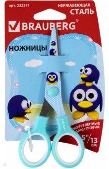 """Ножницы """"Пингвины"""", 130 мм. (232271) Brauberg"""