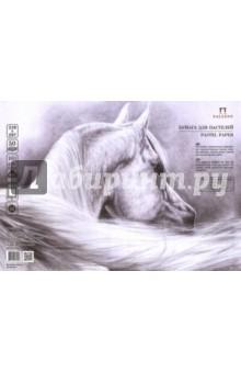 "Бумага для пастелей, 50 листов, 210х297 ""Ice"", белый лед (БРI/А4) Лилия Холдинг"