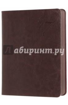 """Ежедневник датированный на 2017 год """"Сариф"""" (А6, коричневый) (42554) Феникс+"""