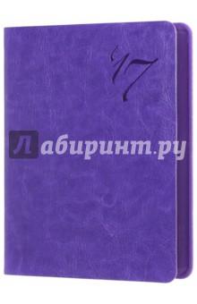 """Ежедневник датированный на 2017 год """"Сариф"""" (А6, фиолетовый) (42556) Феникс+"""