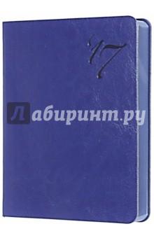 """Ежедневник датированный на 2017 год """"Сариф"""" (А6, синий) (42558) Феникс+"""