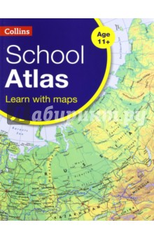 Collins School AtlasИзучение иностранного языка<br>An introductory atlas for secondary schools, perfectly designed to support and motivate Key Stage 3 students in geographical and mapping skills. This secondary school atlas for students aged 11-14 is designed to help develop map, atlas and data handling skills. The content adheres closely to the requirements of the National Curriculum and incorporates results of classroom testing.<br>Its clear and accessible layout will motivate pupils of all abilities at Key Stage 3 and S1-S2. An easy-to-follow introductory  map and atlas skills  section, useful for both teacher and pupil, is followed by clear, accessible reference maps presented with locator maps, fact boxes and flags, descriptive text, detailed map keys and photos.<br>Carefully selected focus country studies include mapping on contrasting regions and special topics. Regions included in this edition include Russia and the Middle East.<br>The latest available country-by-country statistics are listed in a separate section and the index includes full latitude and longitude values.<br>The world section covers all the global issues required by the National Curriculum e.g. climate change, population, biomes, earthquakes and volcanoes.<br>