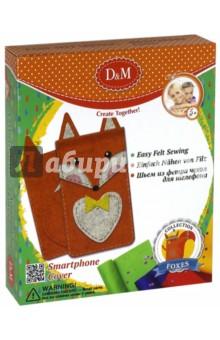 Набор для шитья чехла для мобильного Лисы (60722)Шитье, вязание<br>Набор для шитья чехла для мобильного телефона.<br>Комплект: детали из фетра (), безопасная игла, нитки, бусины (2), инструкция.<br>Материал: текстиль, пластмасса.<br>Упаковка: картонная коробка<br>Для детей от 5 лет.<br>Сделано в Китае.<br>