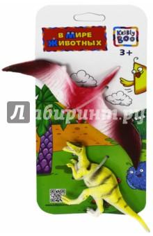 Фигурки зверей В Мире Животных. Птерозавр (63989)Животный мир<br>2 фигурки динозавров.<br>Материал: пластмасса.<br>Упаковка: картонный блистер.<br>Для детей от 3 лет.<br>Сделано в Китае.<br>
