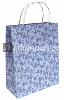 "Пакет подарочный ""Цветочный узор"" (26х12х32 мм) (40113) Феникс+"