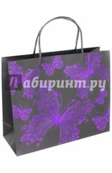 "Пакет подарочный ""Бабочки"" (32х12х26 см) (40117) Феникс+"