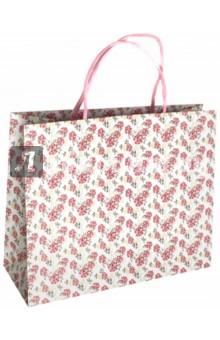Пакет подарочный Цветы (32х12х26 см) (40121)Подарочные пакеты<br>Пакет подарочный бумажный.<br>Размер: 32х12х26 см.<br>Максимальная нагрузка 3 кг.<br>Ручки бумажные крученые.<br>Сделано в Китае.<br>