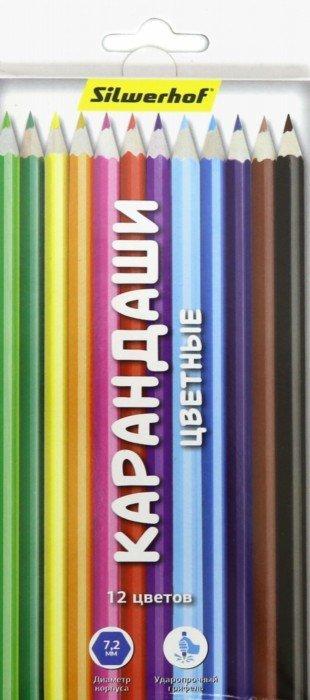 Набор цветных карандашей Action