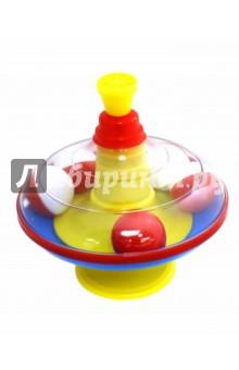 Юла большая с шариками (16 см) (01320) Стеллар