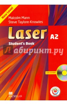 Laser. A2 + Students Book (+CD)Английский язык<br>Contains comprehensive coverage of reading, writing, listening and speaking skills. In this title, the CD-ROM reinforces the material learnt with unit-specific exercises. It also offers a wealth of extra information and exercises online and provides useful preparation for students working towards school-leaving exams.<br>3 edition.<br>