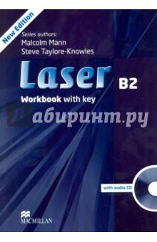 Laser. B2 Workbook + Key (+CD)