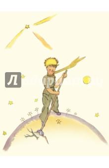Блокнот Маленький принц 3 (А6)Блокноты средние нелинованные<br>Блокнот.<br>Количество листов: 32.<br>Без разлиновки. <br>Крепление: скрепка.<br>Сделано в России.<br>