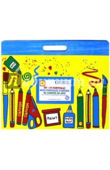 Большая папка для детских рисунков и фото (427W) ALEX